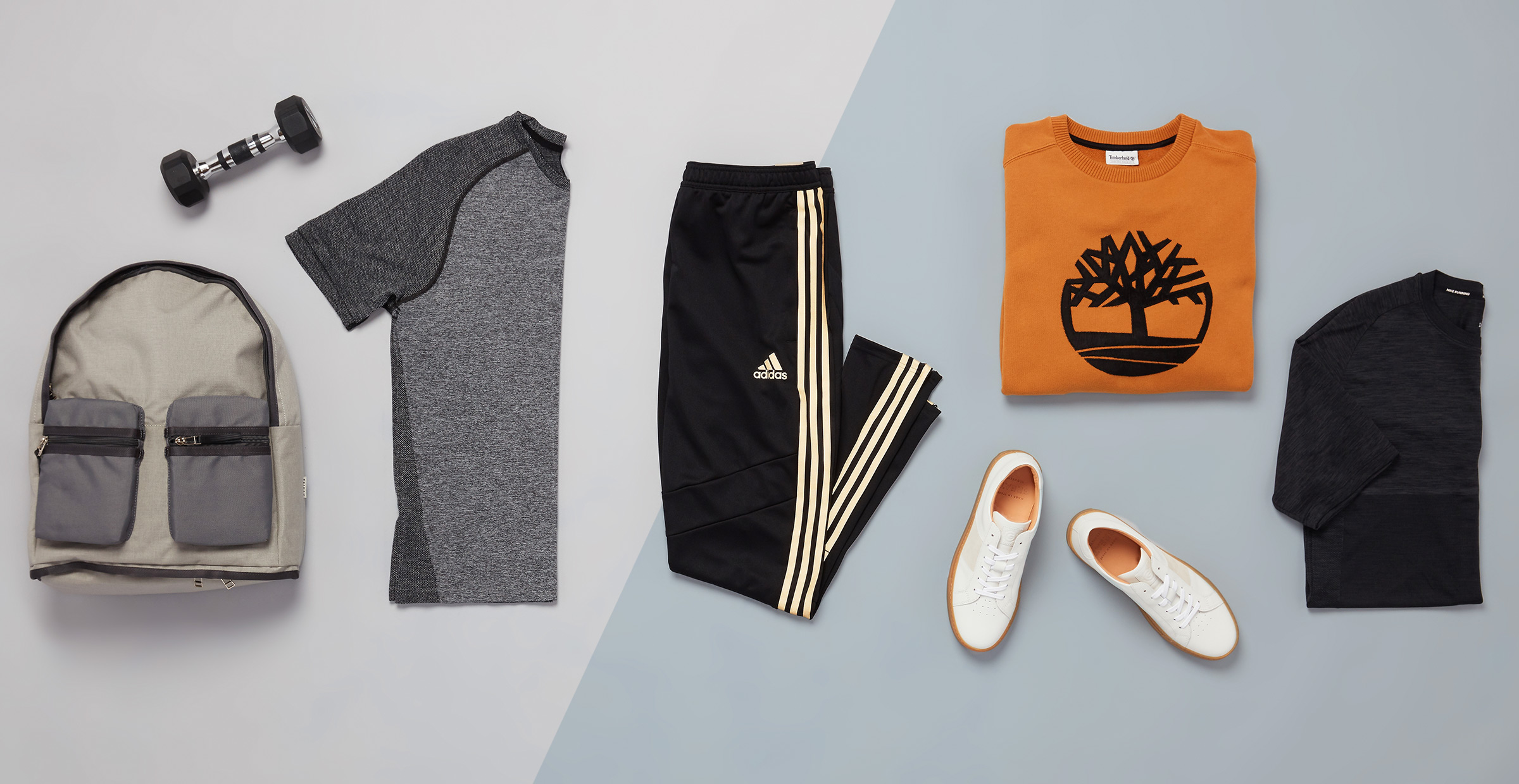 spinning and shopping outfit