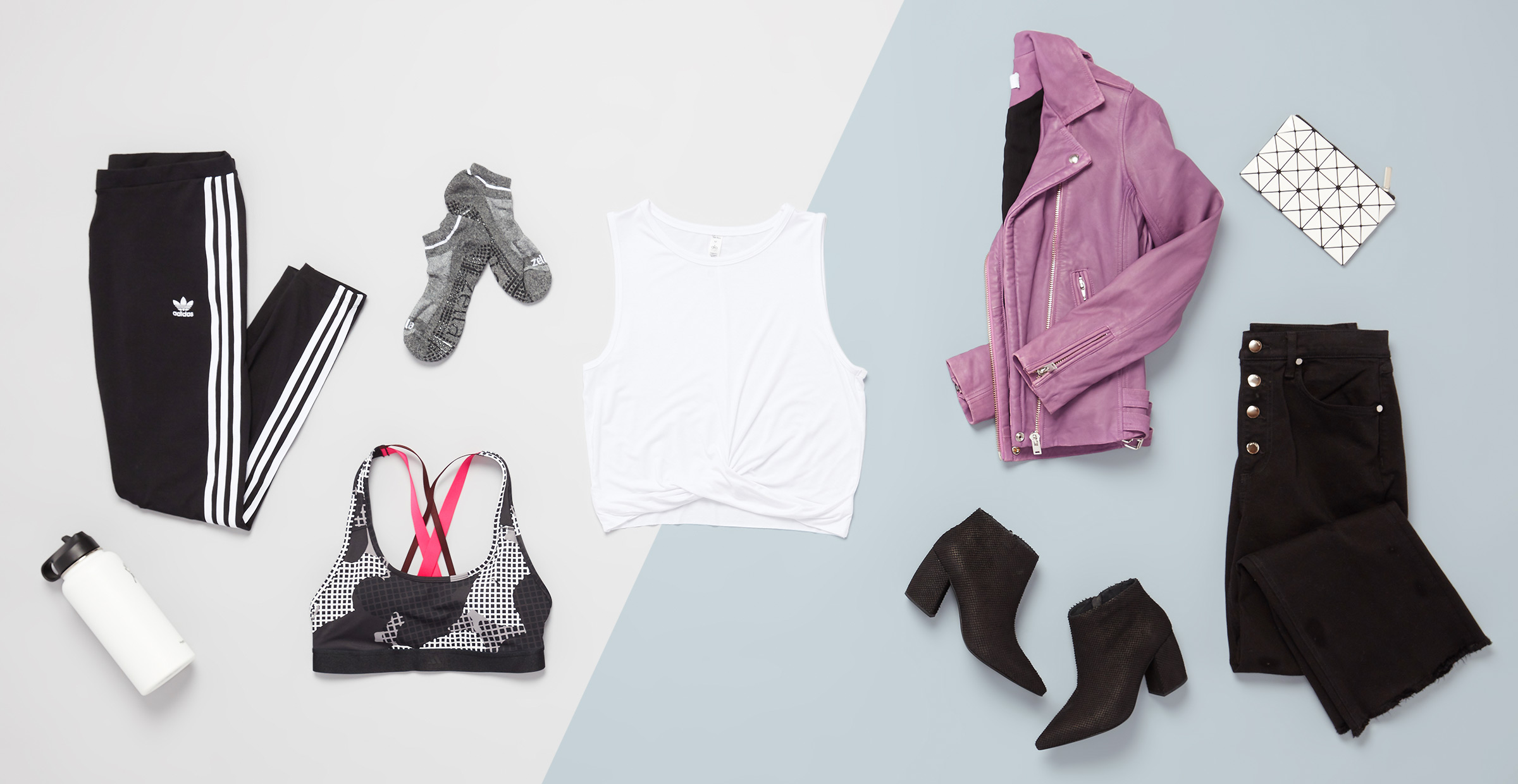 Barre class or brunch athleisure outfits