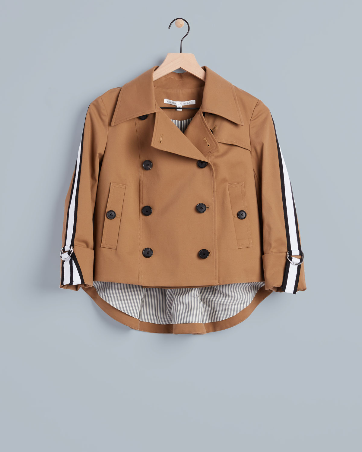 Veronica Beard short trench coat