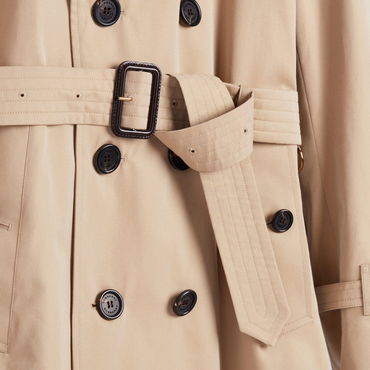 Trench coat belt
