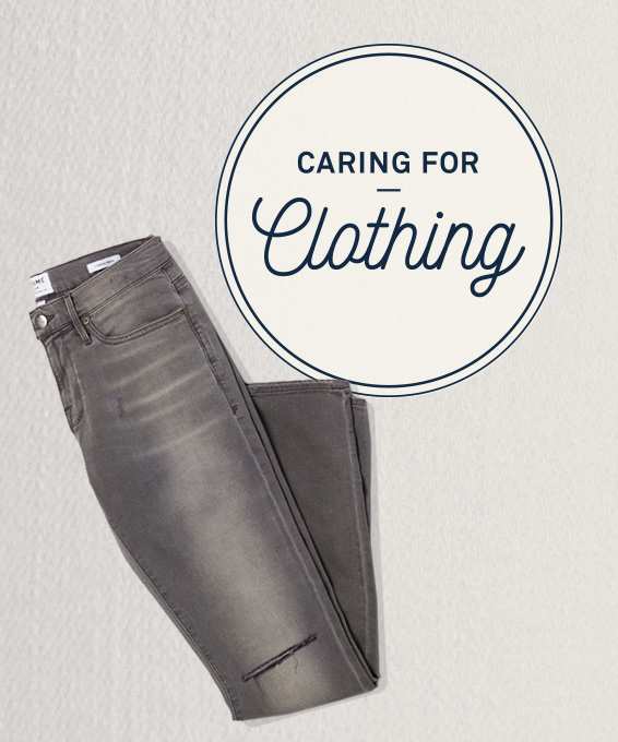 Caring for Clothing: Premium Denim
