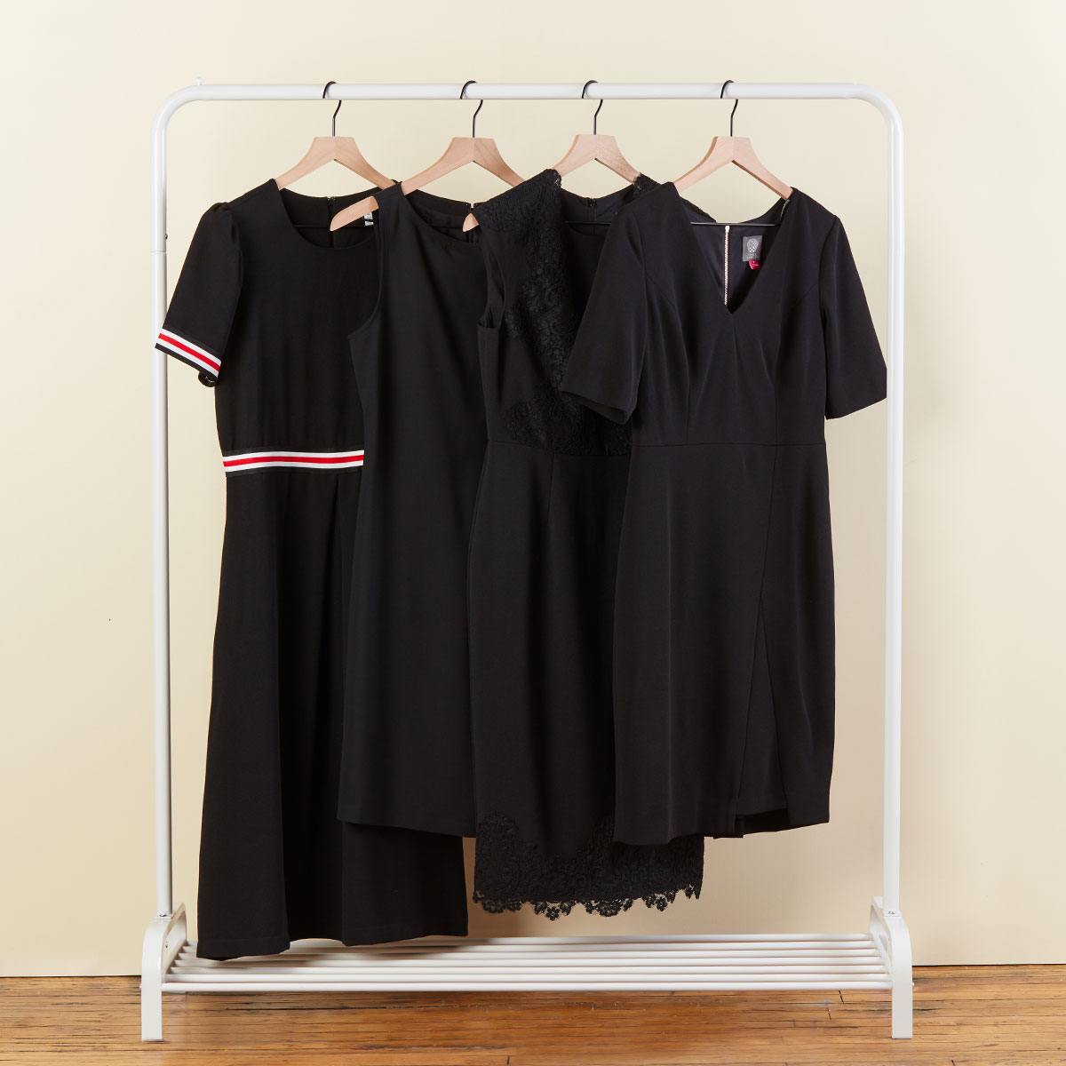 Women's black dresses