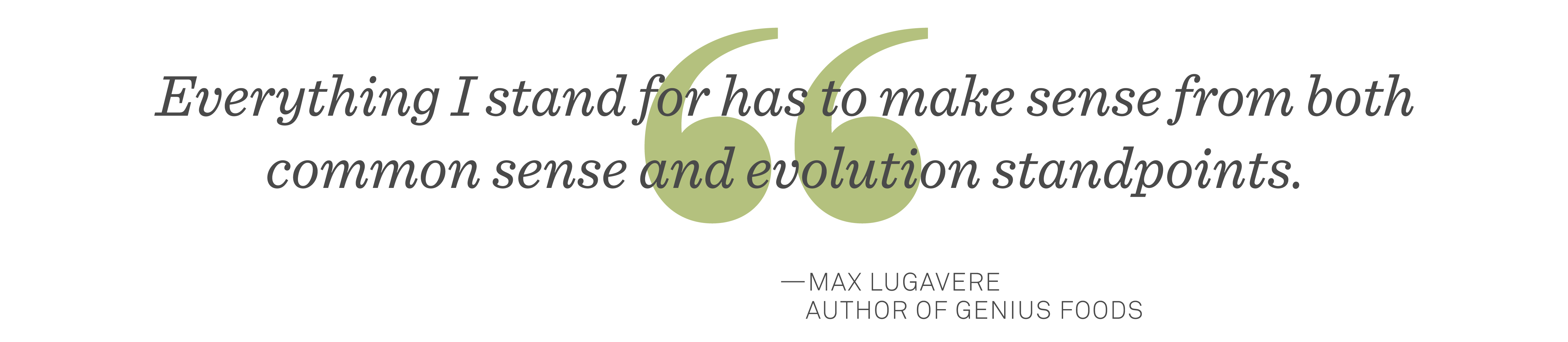 Max Lugavere quote