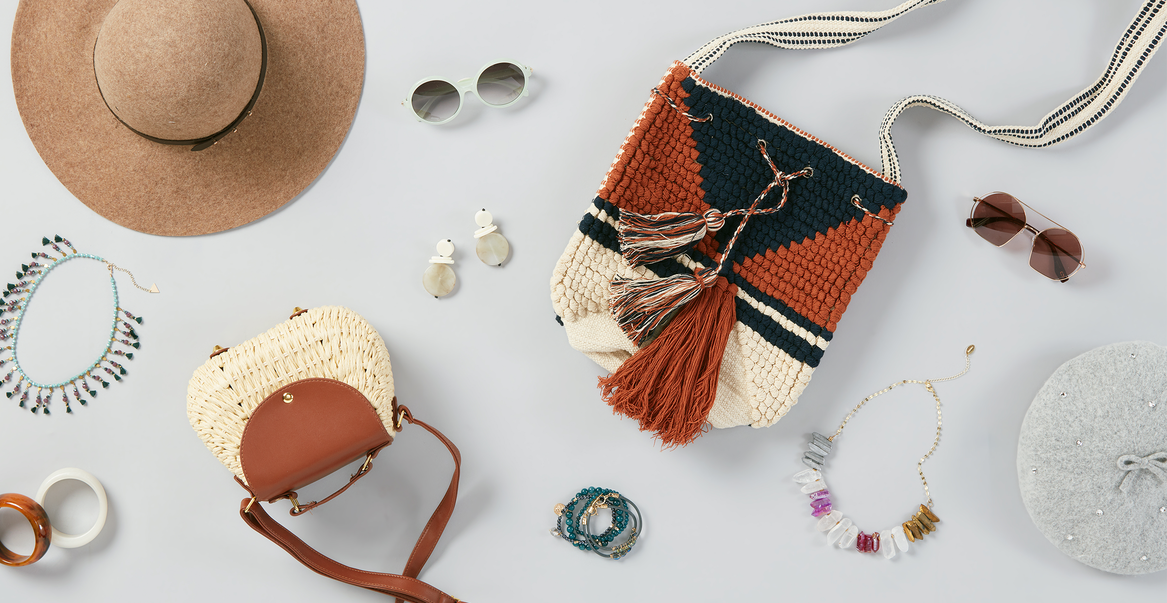 Let Loose with Modern Boho Accessories