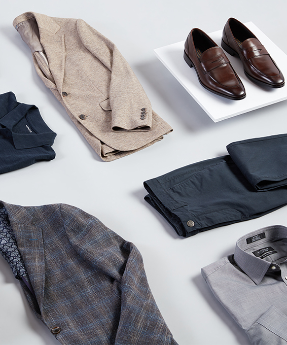 A Men's Guide to Business-Casual Cool