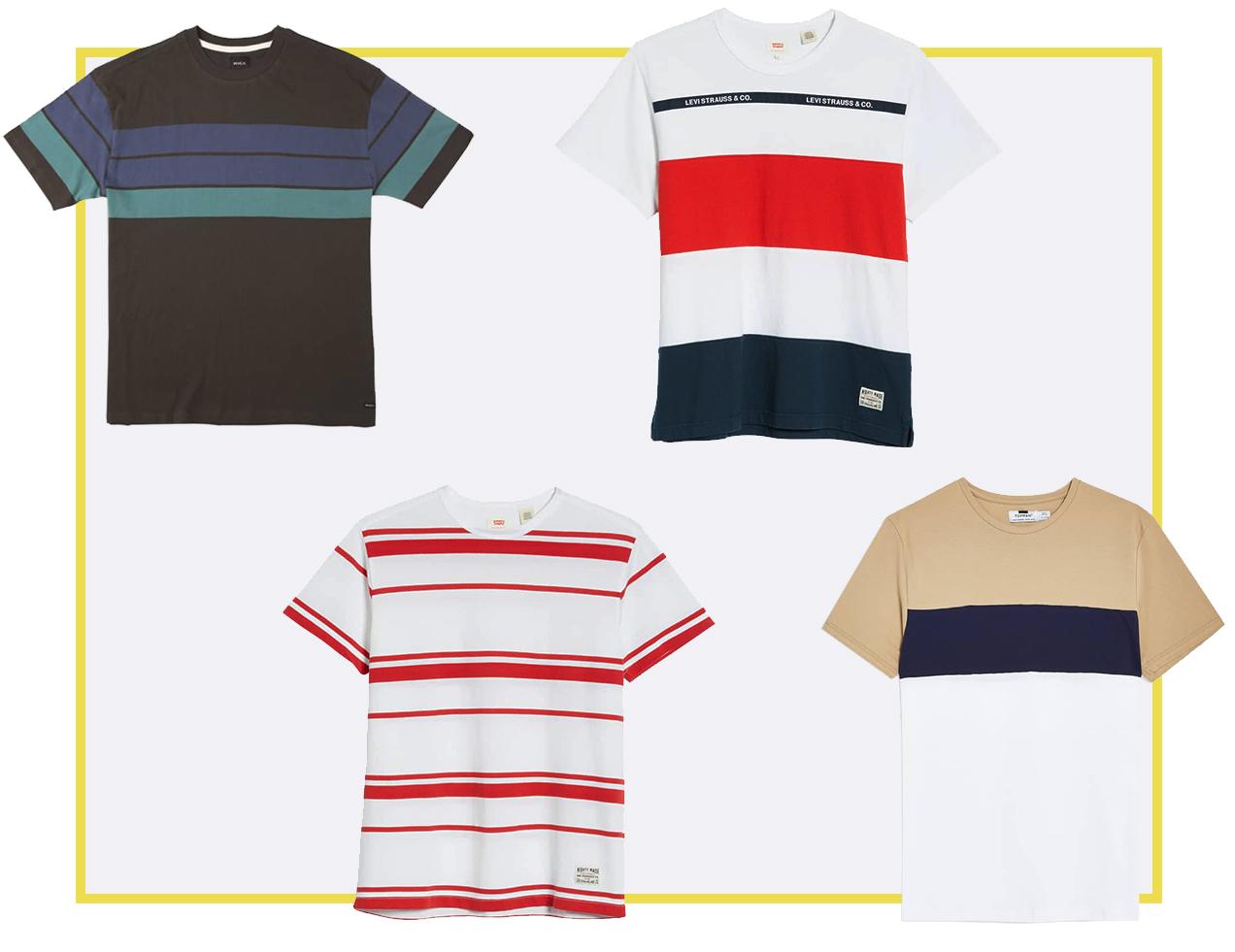 rugby stripe shirts