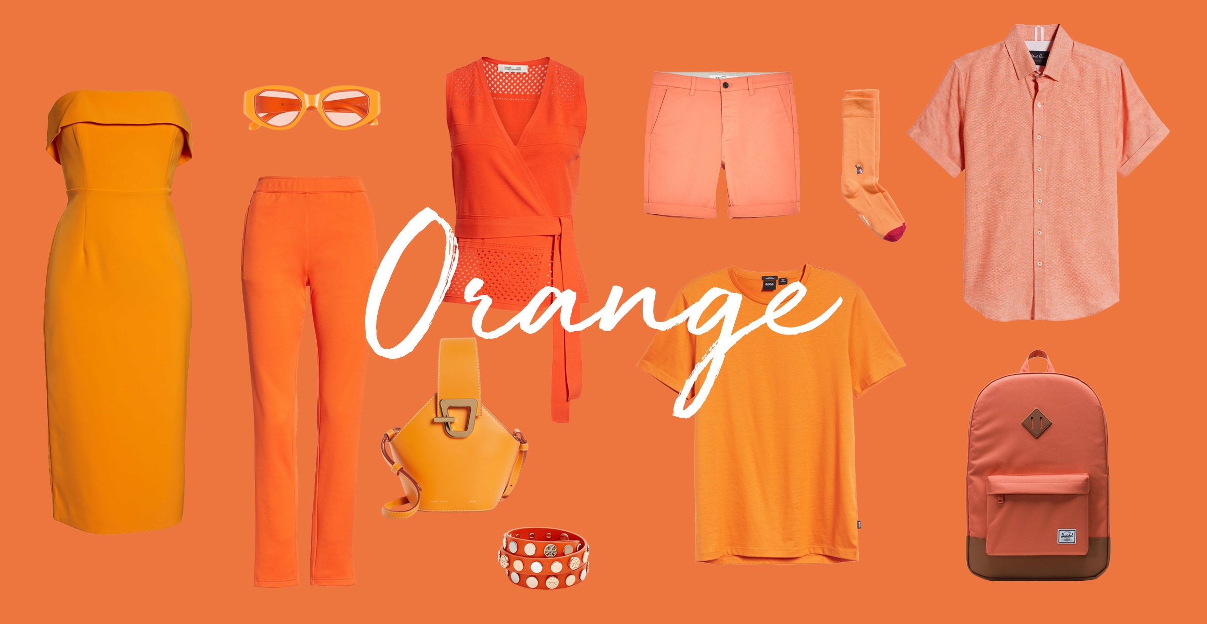 favorite color is orange