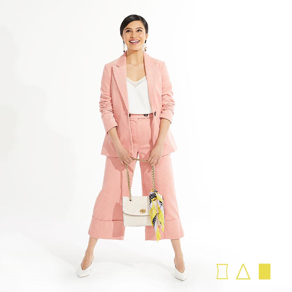 rectangle body type workwear