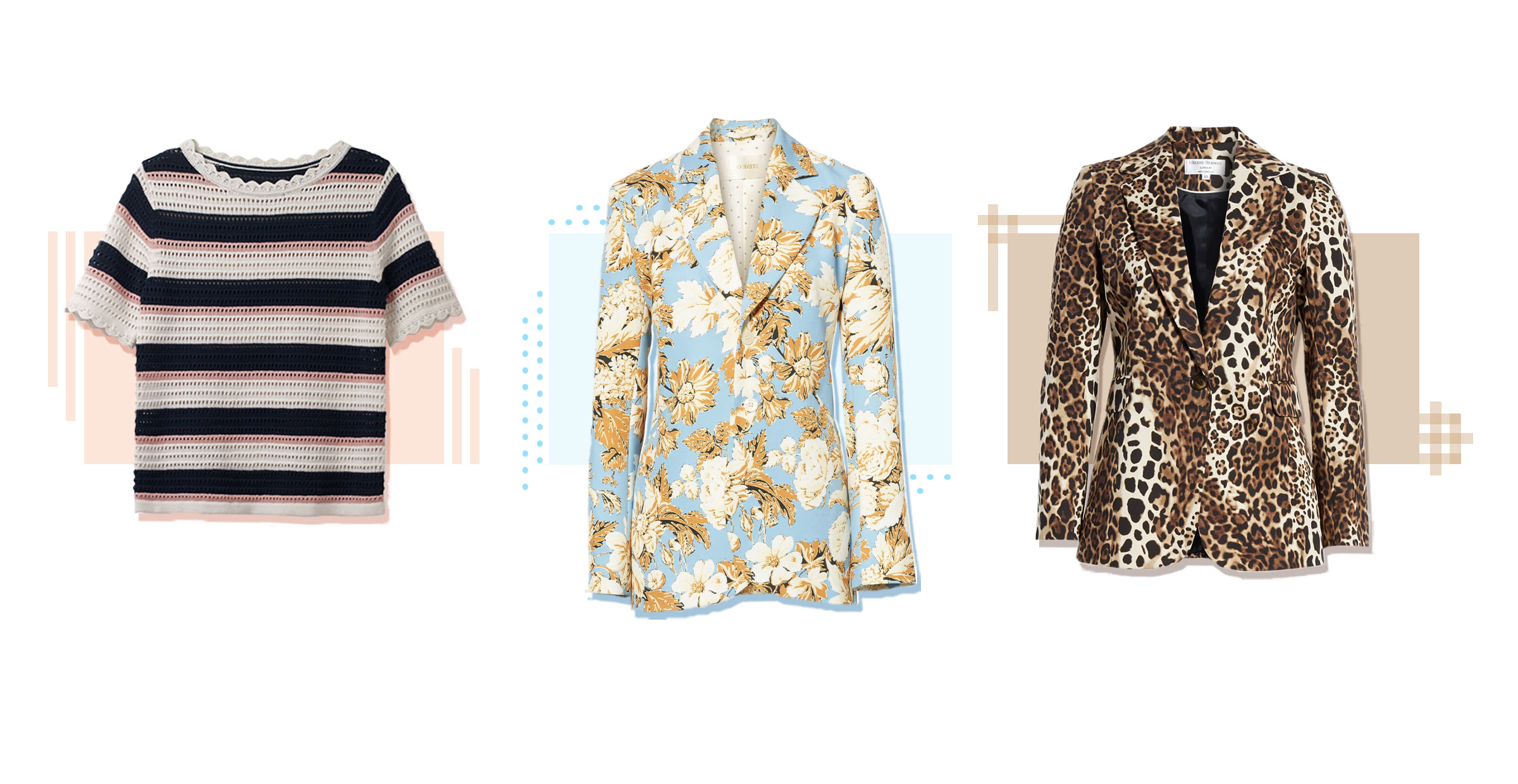 Workwear How-Tos: Mixing Prints