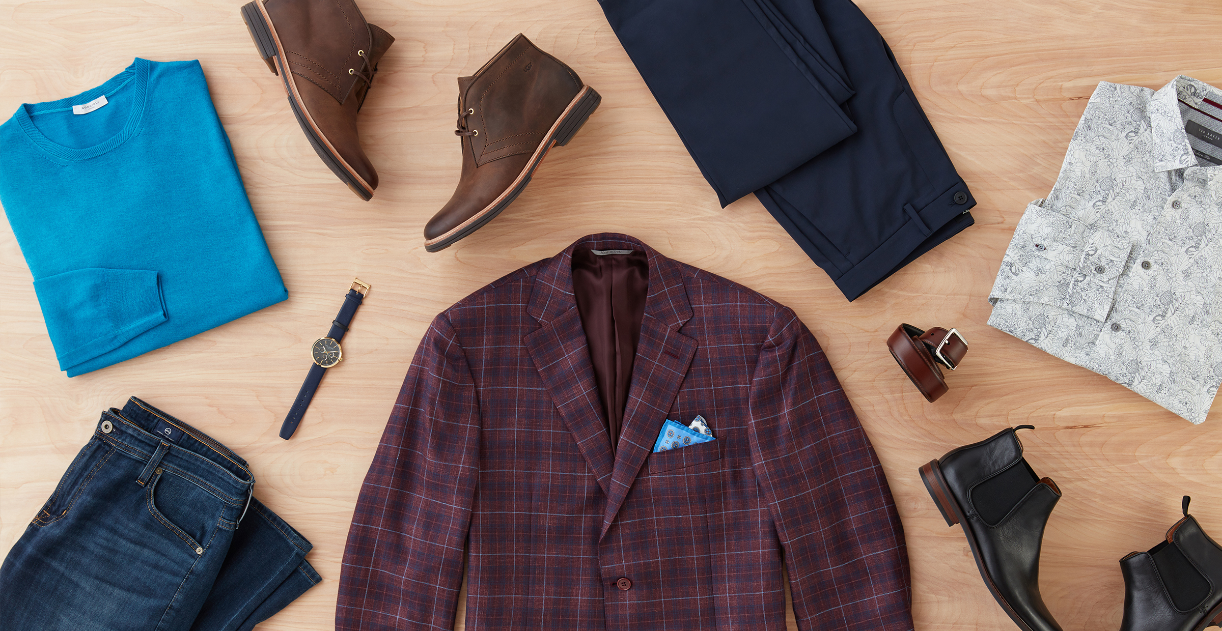 Men's fall clothing essentials