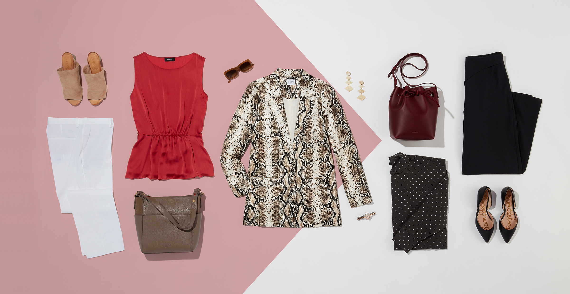 How to wear a statement blazer in the summer and fall