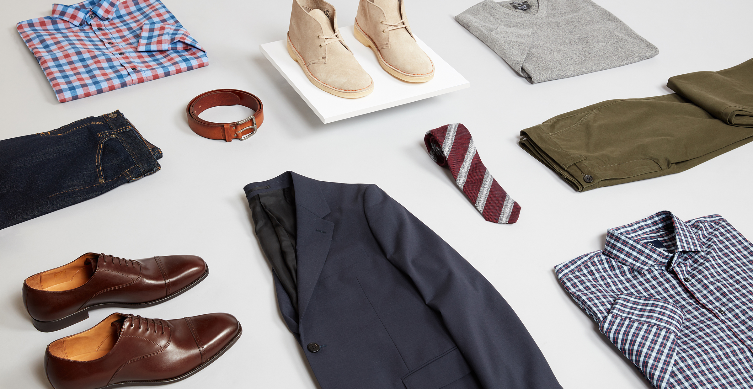 Men's fall workwear pieces