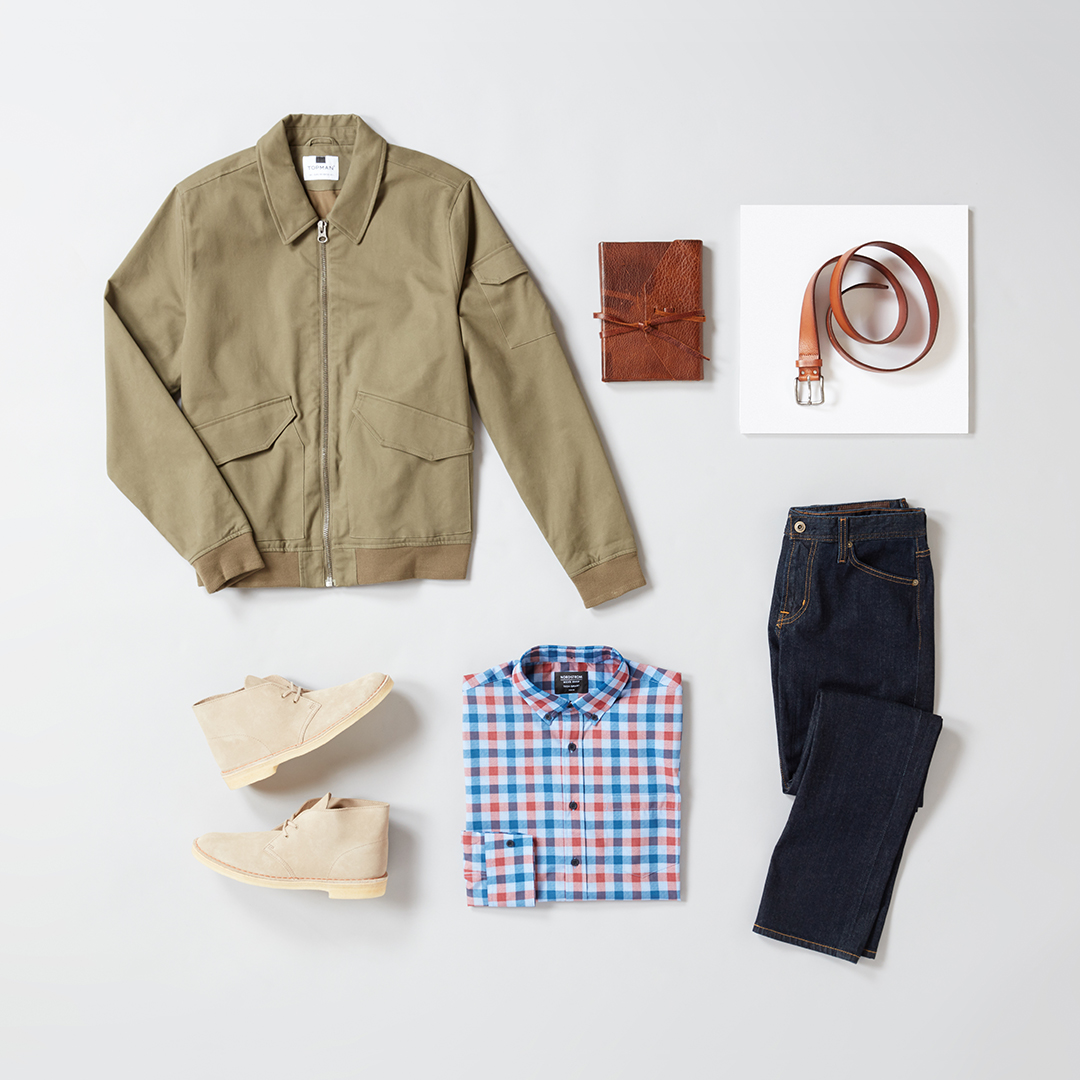 Men's casual fall work outfit