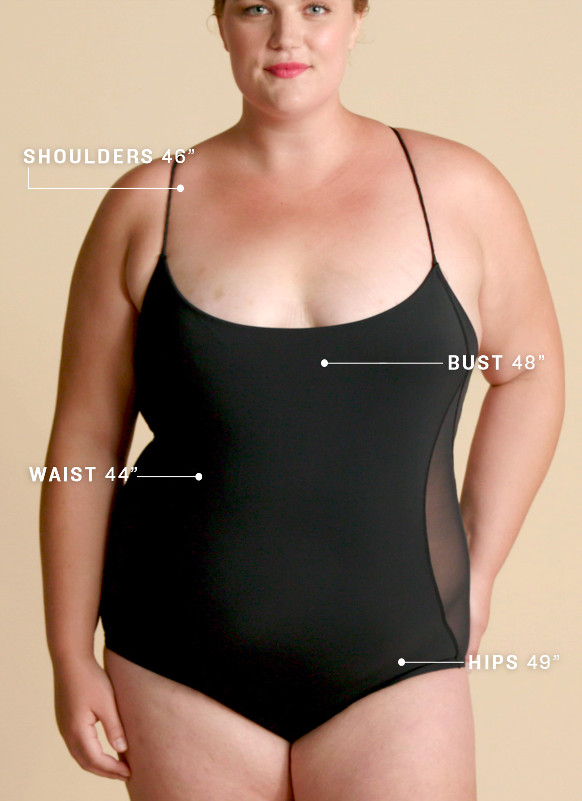 Apple-Shaped Body Measurements