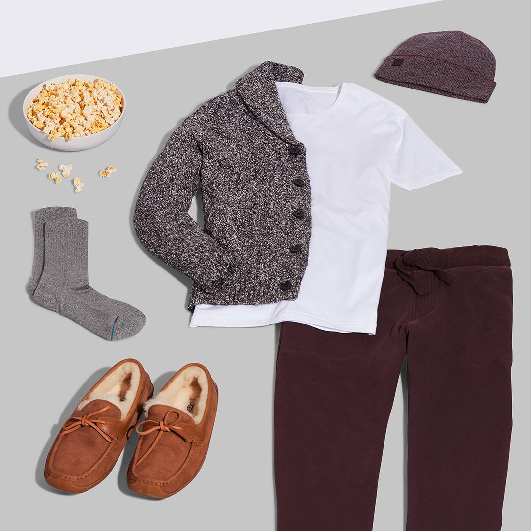 Men's cozy loungewear