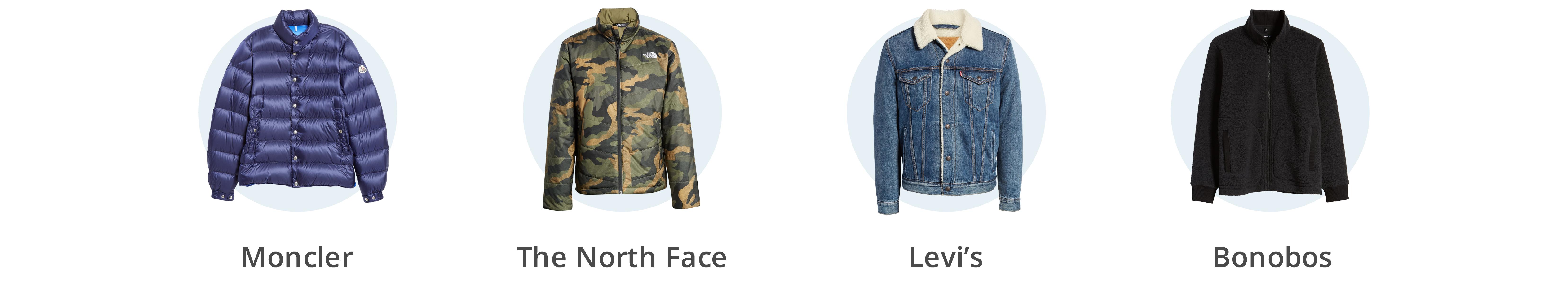 Men's puffer and fleece coats