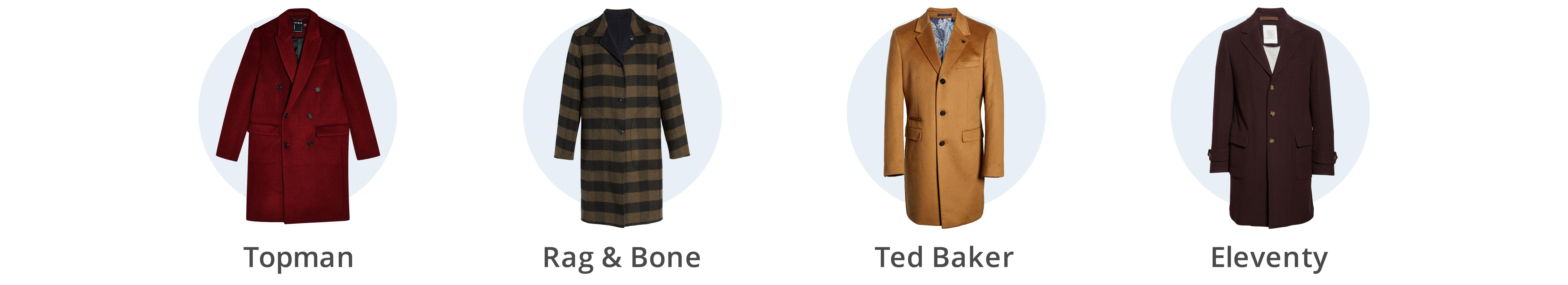 Men's winter topcoats