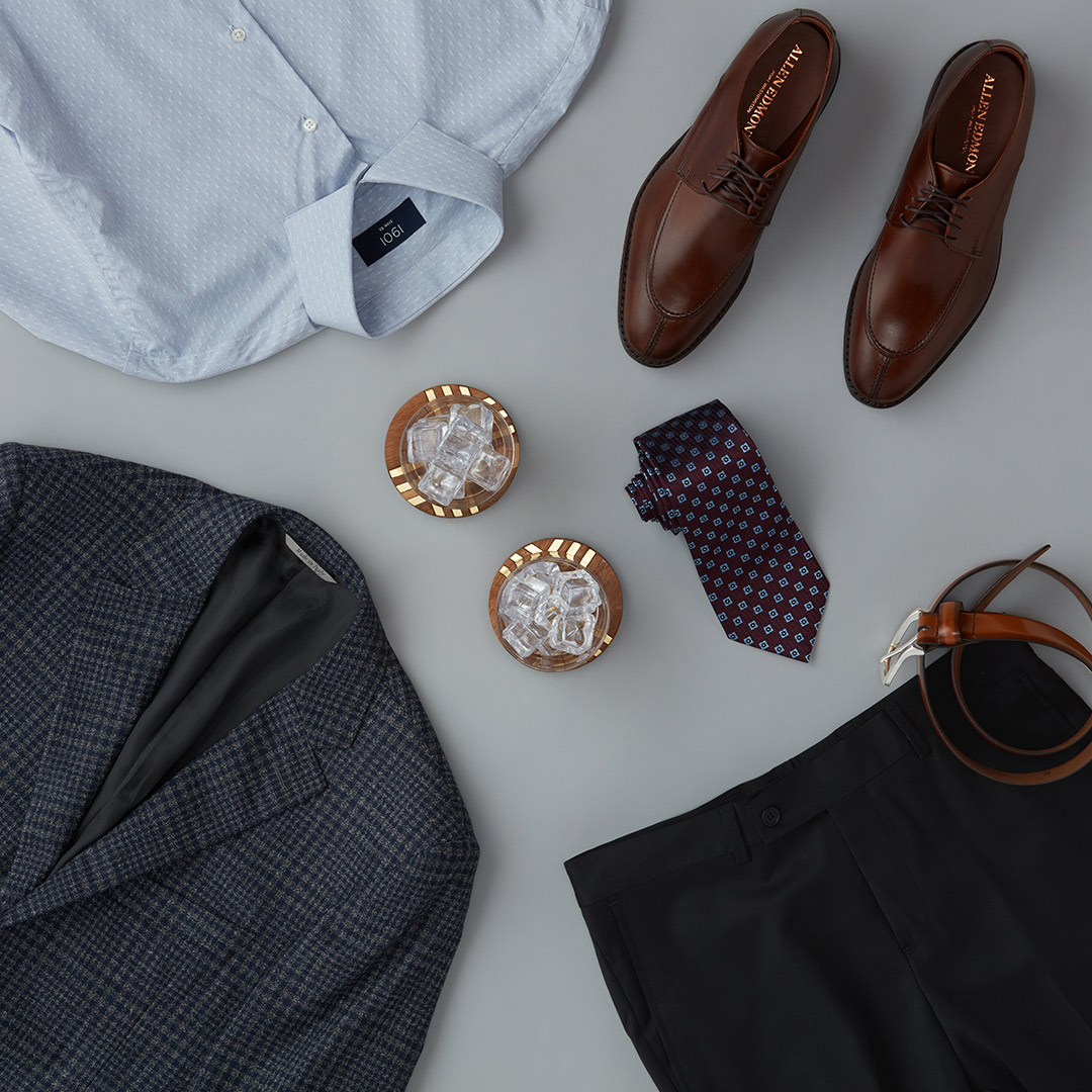 Men's business casual dinner outfit