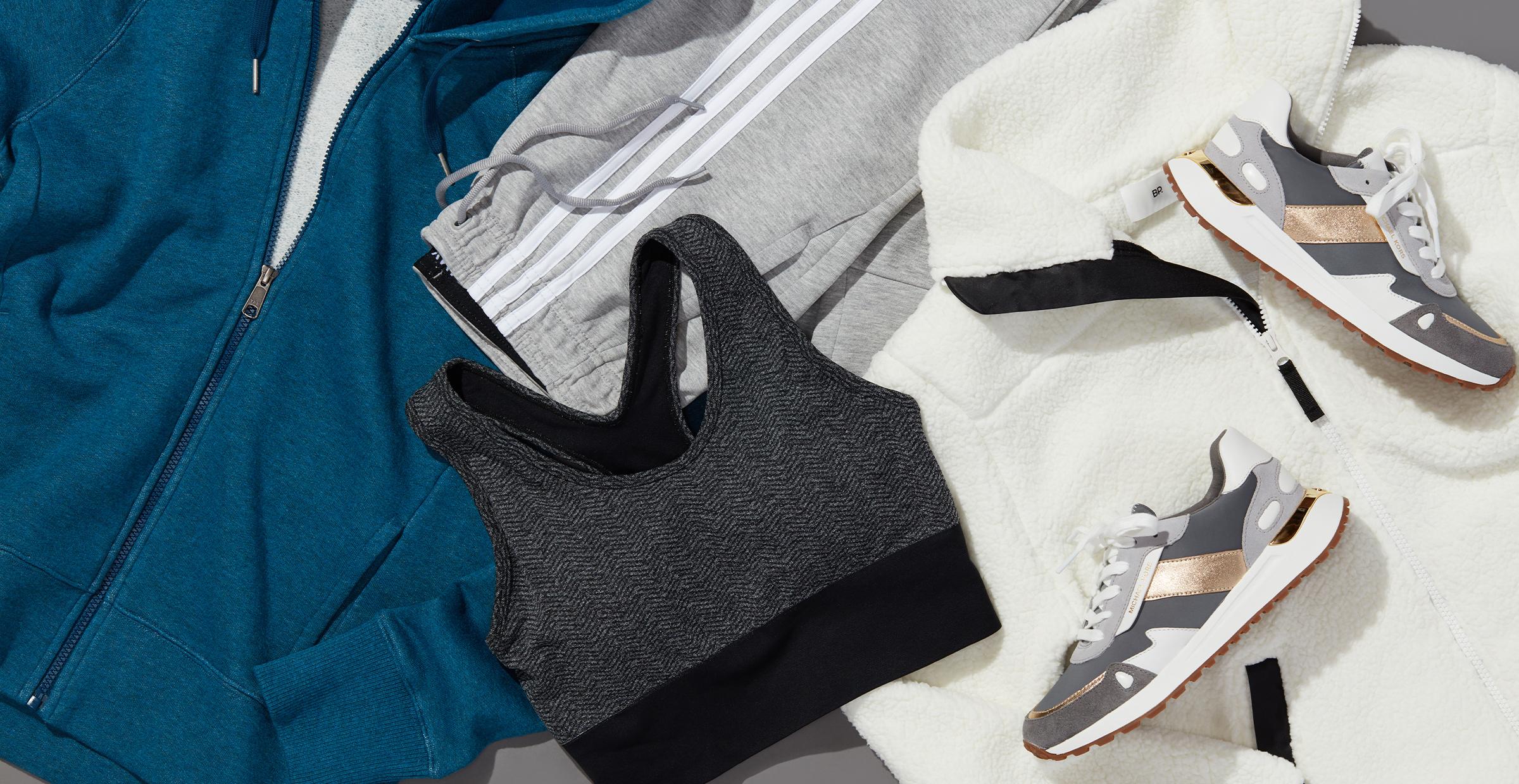 Women's winter activewear clothes