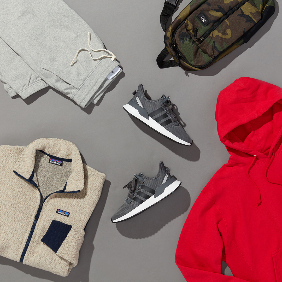 Men's winter athleisure outfit