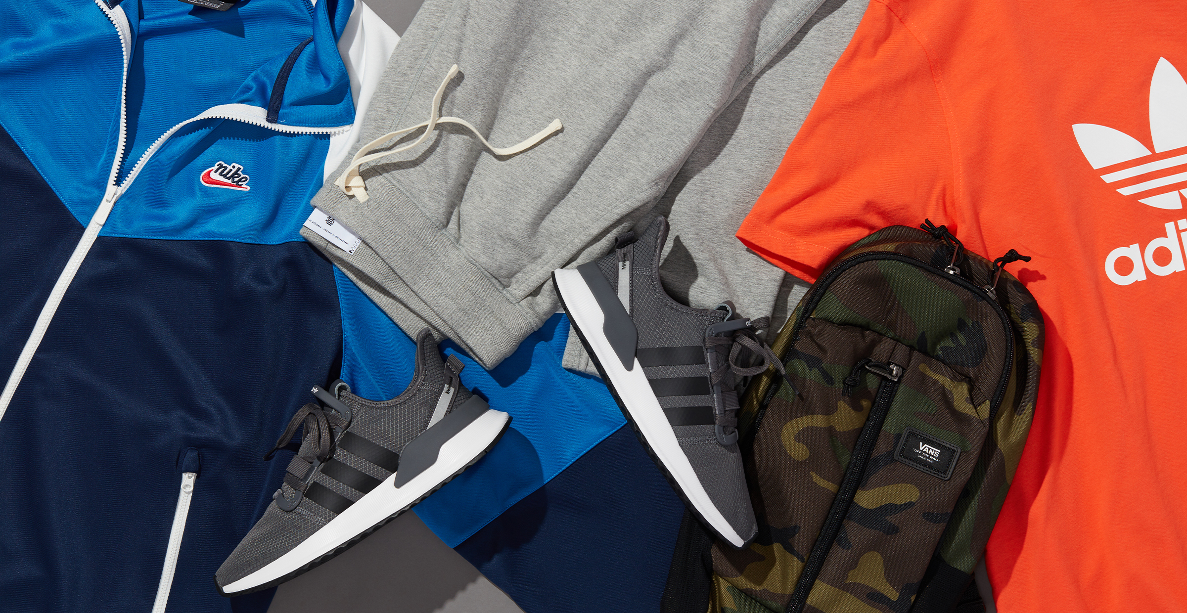 Men's winter activewear clothes