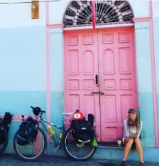 Cycling through Nicaragua