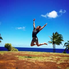 Summer 2014 on the Big Island (to write my memoir)!