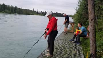 our second home on the Kenai River, Alaska