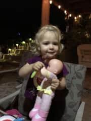 My granddaughter Elizabeth!