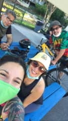 My family - we love riding bikes together