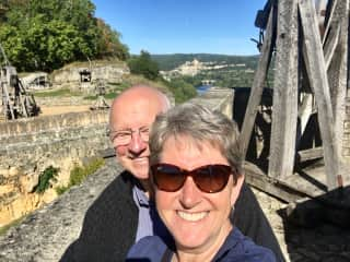 Chateau de Castlenaud in the lovely Dordogne,  France October 2019
