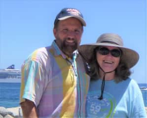 Don & Paulette, vacationing in Cabo!