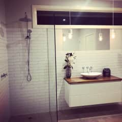 Two bathrooms, both fully renovated. European  style Laundry