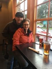 Brian and Barbara