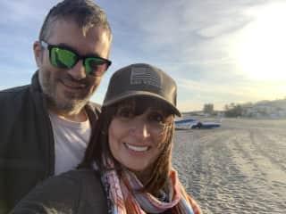 Neil & Sarah in Spain Nov 2019