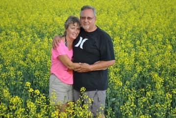 Larry & Ruth (Canola Field)