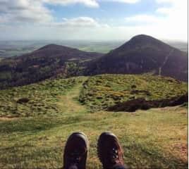 Hiking up Scotland!