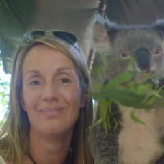 Meeting a local during our six month stay in Australia in 2013