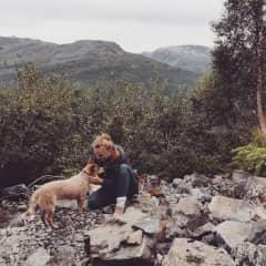 And we love hiking...