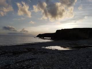 Kilfarrasy Beach nearby