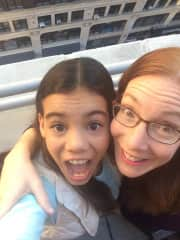 My daughter, Lily, and I in NYC