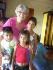 Ecuador - kids in the school