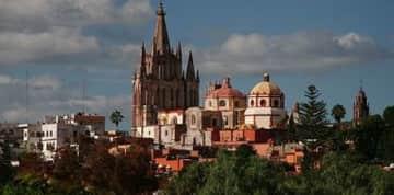 town & churches San Miguel de Allende