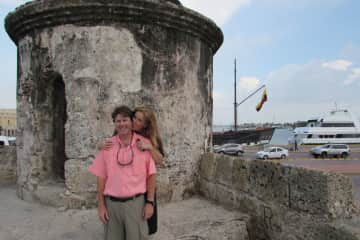 Us in Colombia - the people of this nation are wonderful!