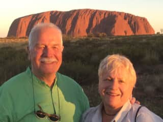 Doug and Beth in Australia in 2019