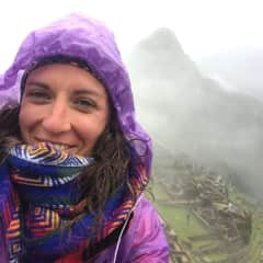 Me impressed by incredible Machu Picchu