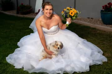 Yes- we had a puppy at our wedding! That's how much I love dogs!