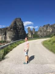 Jane in Greece