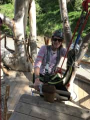 Advanced Ropes Course in Catalina