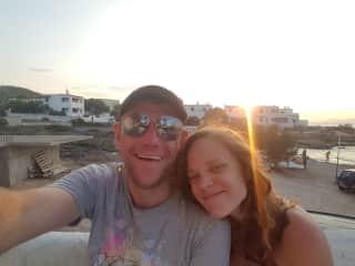 Sean Lormor and Leah Hyett